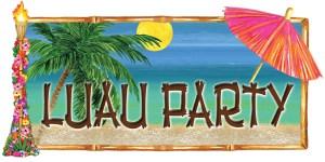 Hospice Luau Party
