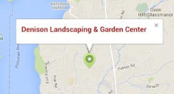 map to denison landscaping