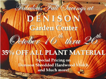 Denison Fall Sale 2015