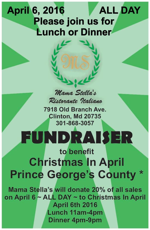 Christmas Fundraiser Flyer.2016 Mama Stella Fundraiser Flyer Denison Landscaping