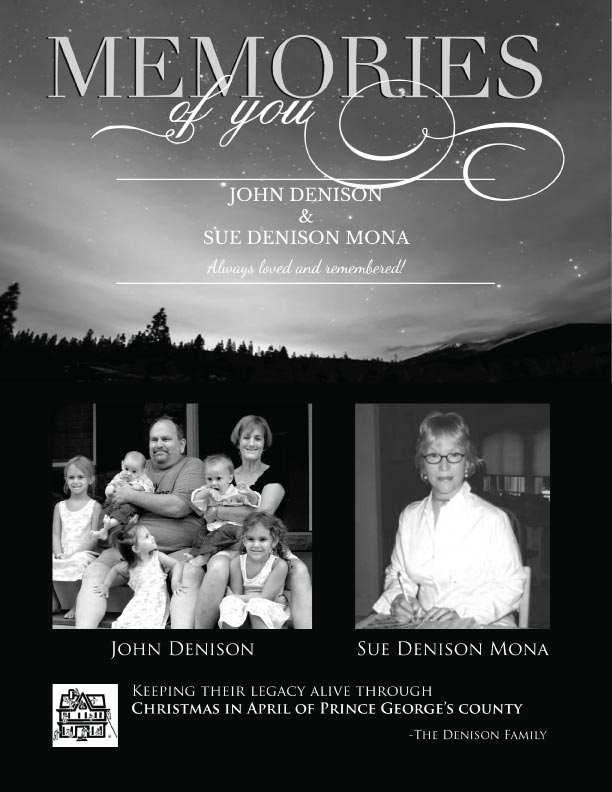 Denison-John-Sue-Golf Tournament Memory page