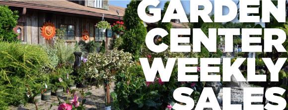 Garden Center Weekly Sales 580 Denison Landscaping