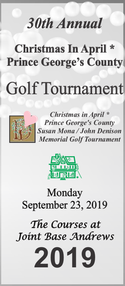 29th Annual Susan Mona / John Denison Memorial Golf Tournament